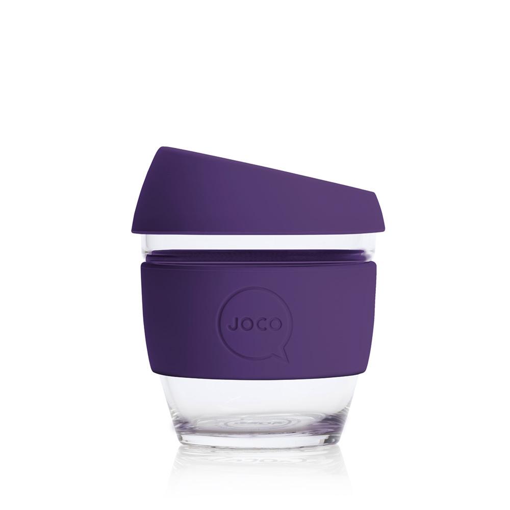 JOCO Reusable Glass Cup Violet (8oz)