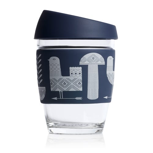 JOCO Reusable Glass Cup Artist Series Adrian Knott (12oz)