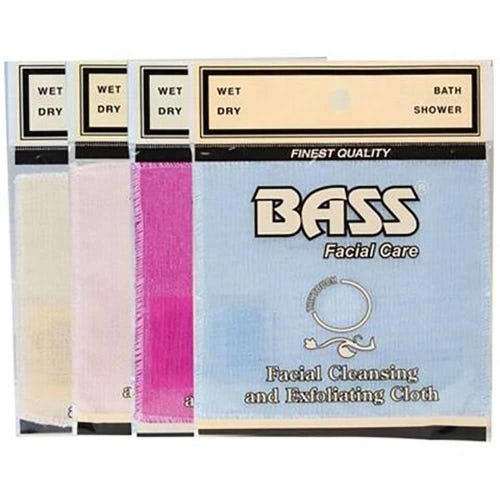 Bass Exfoliating Facial Cleasing Cloth (1 Cloth)