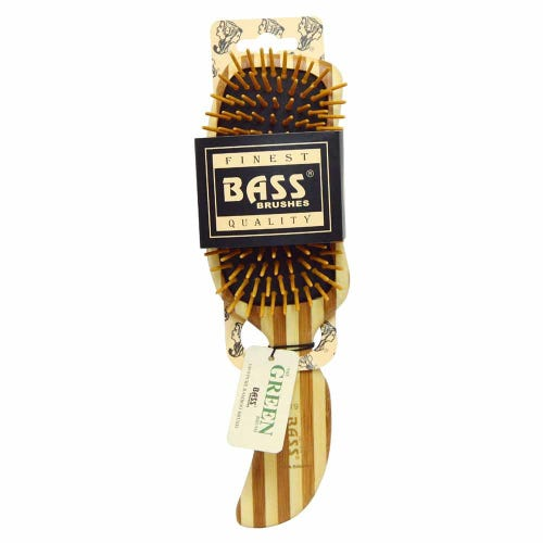 Bass Brushes Bamboo Hairbrush -  Semi S Shaped