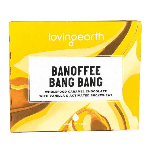 Loving Earth Chocolate Banoffee Bang Bang (45g)