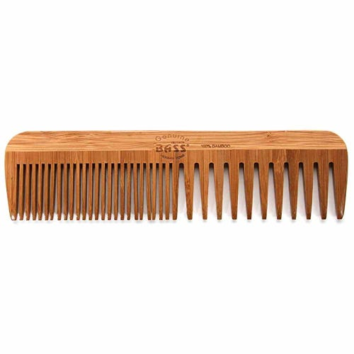Bass Brushes Bamboo Comb Medium Wide