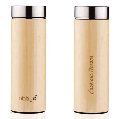 BBBYO Bamboo Thermal Tea Flask (500ml)