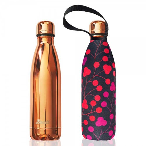 BBBYO Stainless Steel 750ml Bottle + Carry Cover - Bondi Walk
