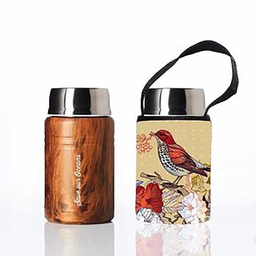 BBBYO Foodie Lunch Container 500ml + Cover - Bird