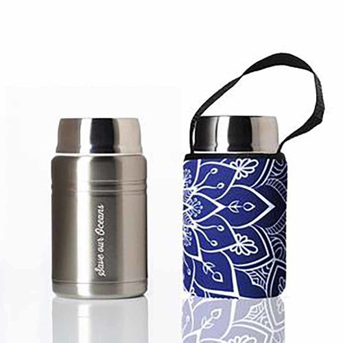 BBBYO Foodie Lunch Container 500ml + Cover - Mandala