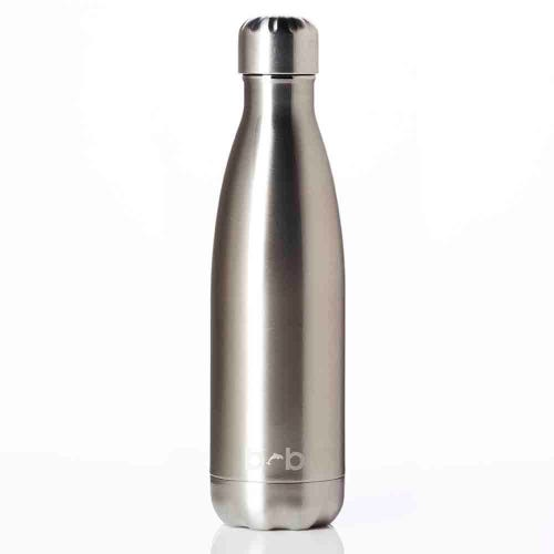 BBBYO Stainless Steel 500ml Bottle - Silver