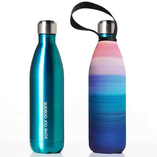 BBBYO Stainless Steel 500ml Bottle + Carry Cover - Calma