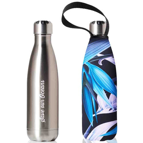 BBBYO Stainless Steel 500ml Bottle + Carry Cover - Paradise