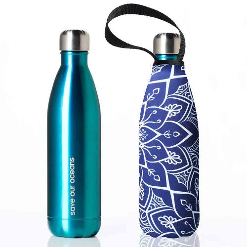 BBBYO Stainless Steel 500ml Bottle + Cover - Tokyo