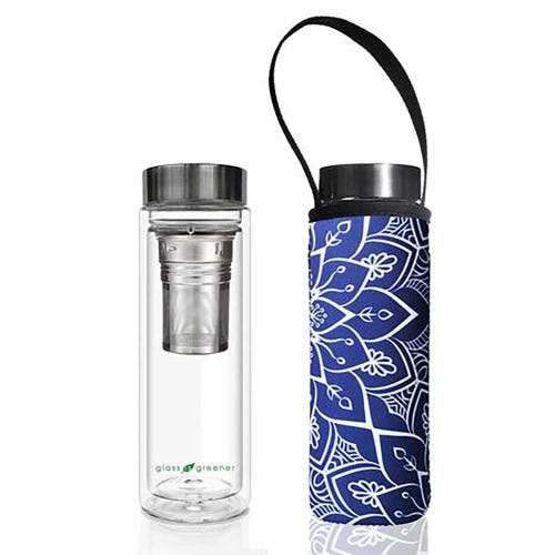 BBBYO Glass is Greener Thermal Tea Flask + Cover Tokyo (500ml)