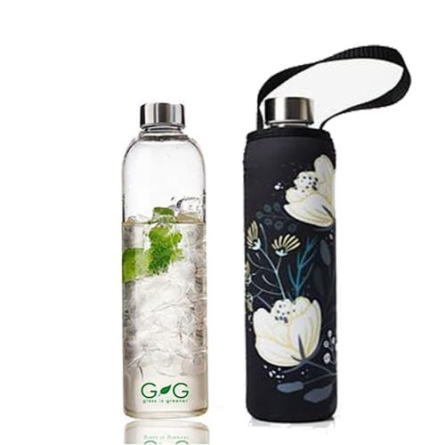 BBBYO Glass is Greener 750ml Bottle + Carry Cover - Orient