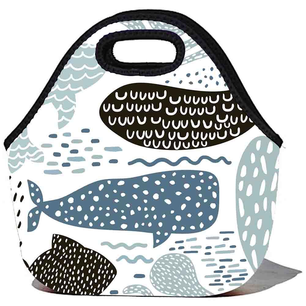 BBBYO Kids Lunch Bag - Dotty Whale