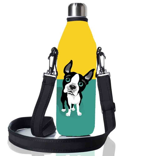 BBBYO Bottle Carry Cover 500ml - French Bulldog