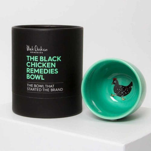 Black Chicken Remedies Bowl