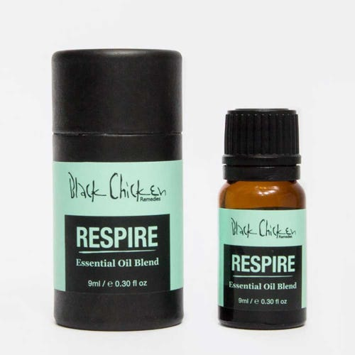 Black Chicken Remedies Essential Oil - Respire