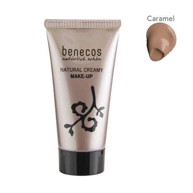 Benecos Natural Creamy Make Up Foundation Caramel (30ml)