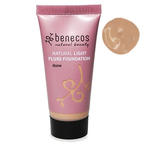 Benecos Natural Light Fluid Foundation Dune (30ml)