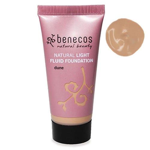 Benecos Natural Light Fluid Foundation Dune (30ml)