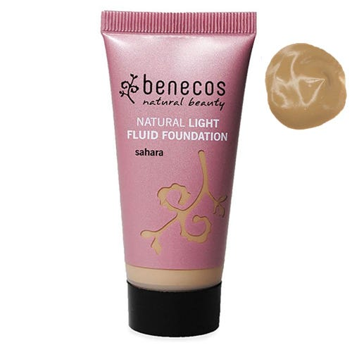 Benecos Natural Light Fluid Foundation Sahara (30ml)