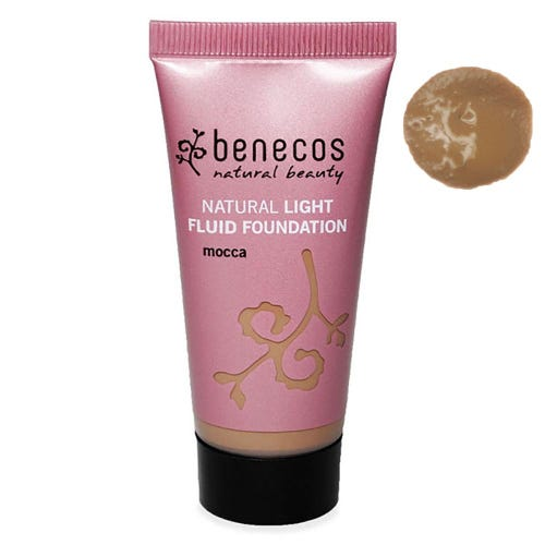 Benecos Natural Light Fluid Foundation Mocca (30ml)