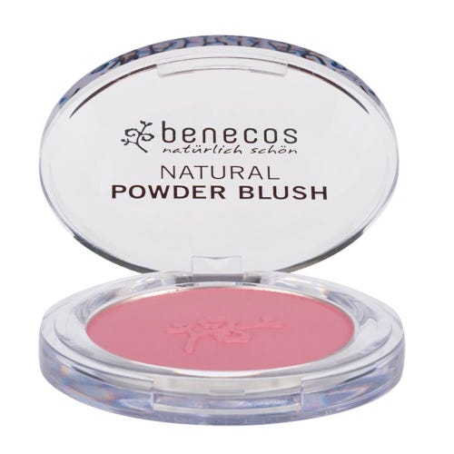 Benecos Natural Powder Blush Mallow Rose (5.5g)
