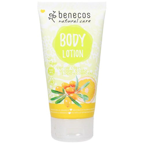 Benecos Body Lotion - Sea Buckthorn & Orange (150ml)