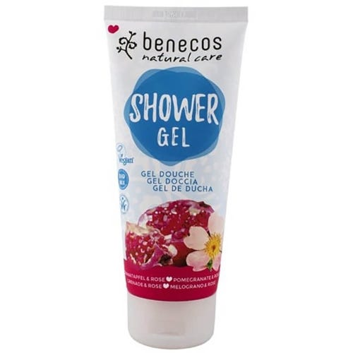 Benecos Shower Gel - Pomegranate & Rose (200ml)