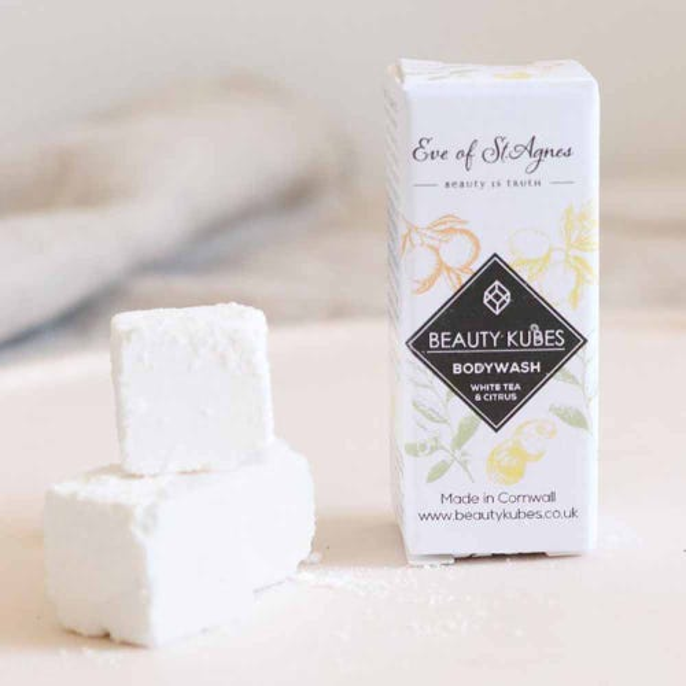 Beauty Kubes Body Wash Mini - White Tea & Citrus (12g)