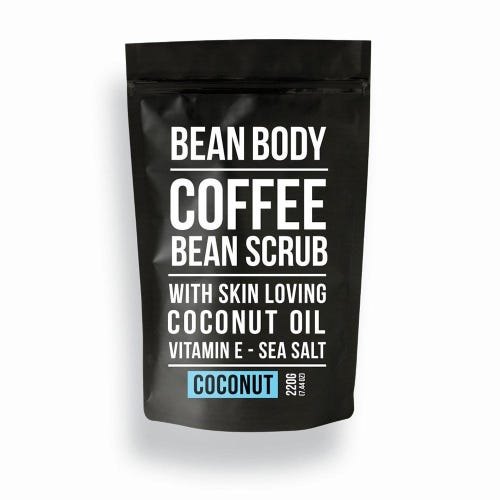 Bean Body Coffee Scrub Coconut (220g)