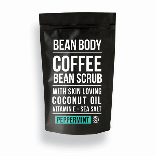Bean Body Coffee Scrub Peppermint (220g)