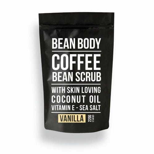 Bean Body Coffee Scrub Vanilla (220g)