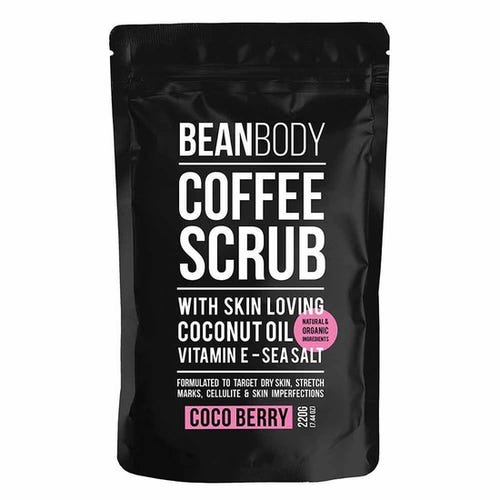 Bean Body Coffee Scrub Coco Berry (220g)
