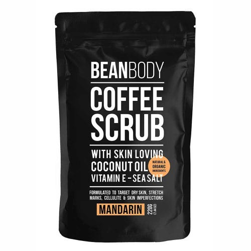Bean Body Coffee Scrub Mandarin (220g)