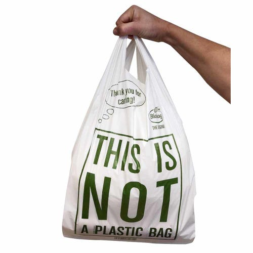BioBag Compostable Carry Bag Large