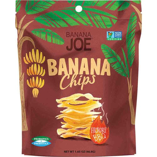 Banana Joe Hickory BBQ Banana Chips (46.8g)