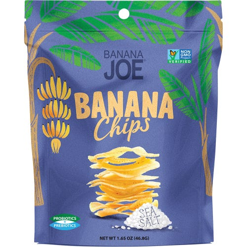 Banana Joe Sea Salt Banana Chips (46.8g)