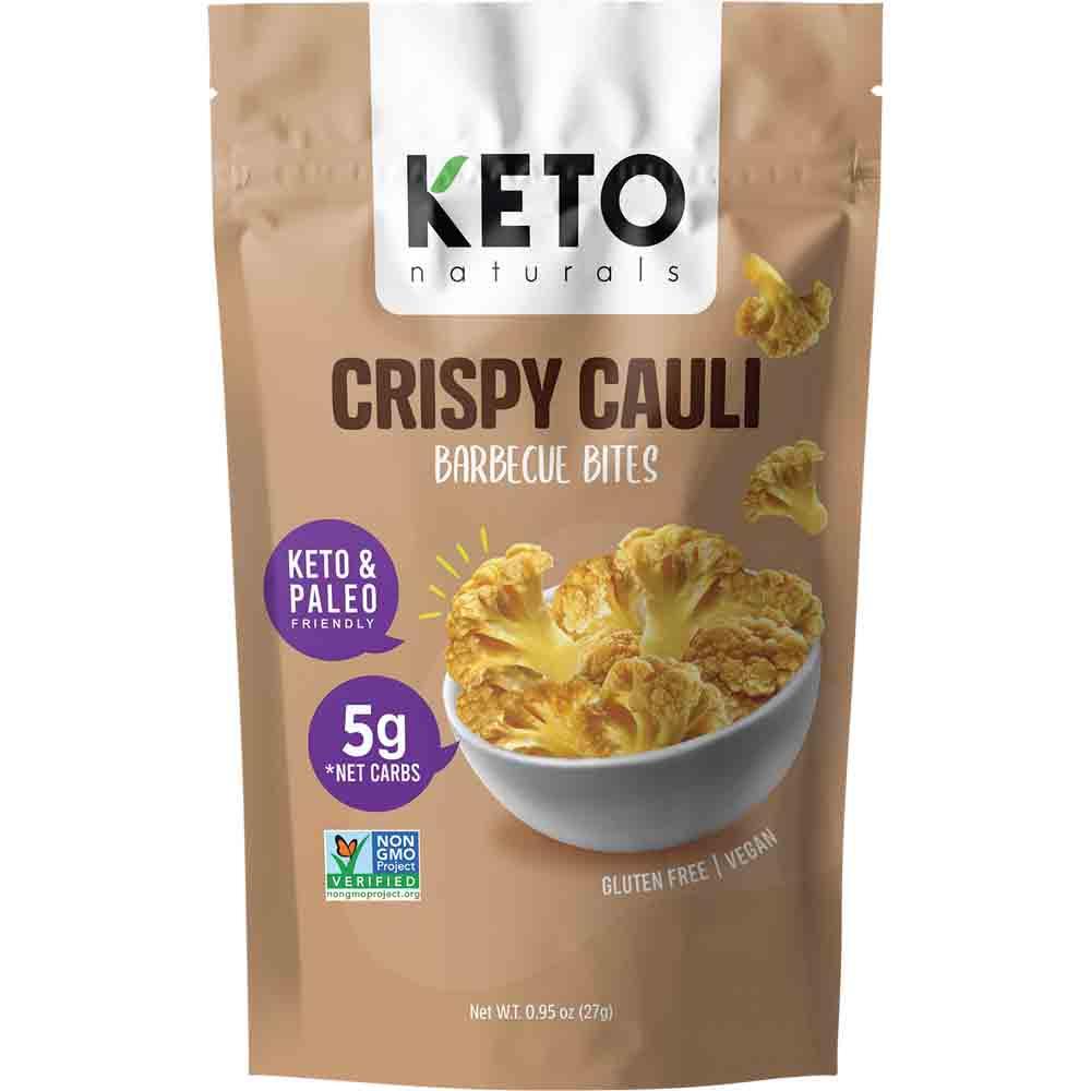Keto Naturals Crispy Cauli Barbecue Bites (27g)