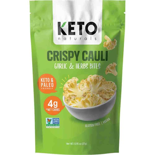 Keto Naturals Crispy Cauli Garlic & Herb Bites (27g)