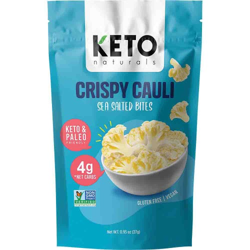 Keto Naturals Crispy Cauli Sea Salted Bites (27g)