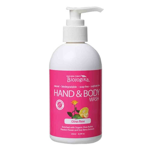Biologika Hand & Body Wash - Citrus Rose (250ml)