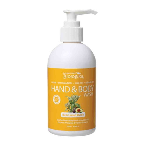Biologika Hand & Body Wash - Bush Lemon Myrtle (250ml)