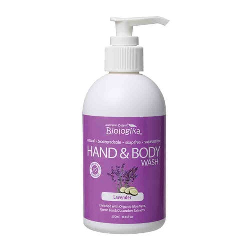 Biologika Hand & Body Wash - Lavender (250ml)