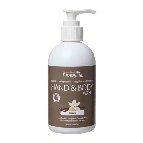 Biologika Hand & Body Wash - Vanilla (250ml)