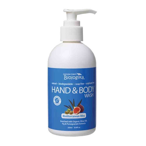 Biologika Hand & Body Wash - Mediterranean Bliss (250ml)