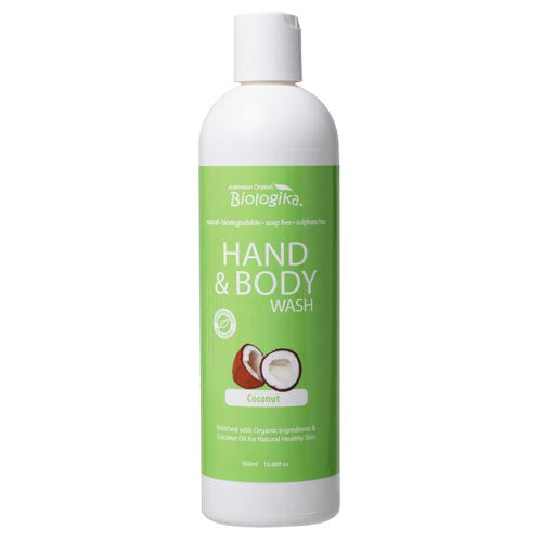 Biologika Hand & Body Wash - Coconut (500ml)