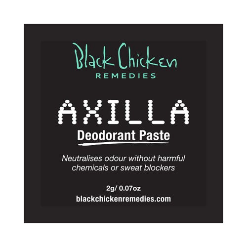 Black Chicken Remedies Axilla Deodorant Paste Trial Sachet (2g)
