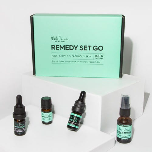 Black Chicken Remedy-Set-Go
