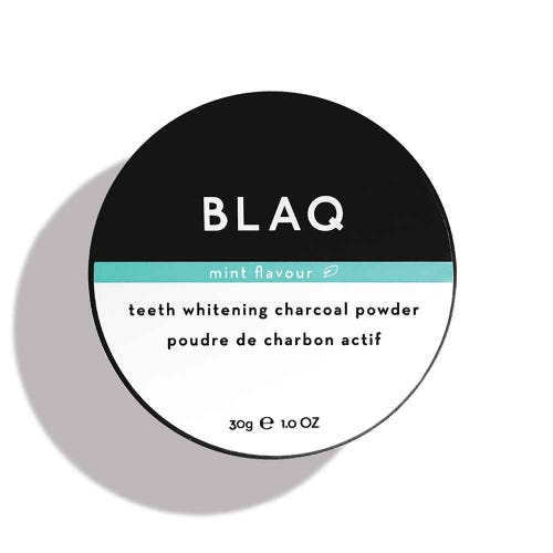 Blaq Charcoal Teeth Whitening Powder (30g)