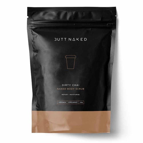 Butt Naked Dirty Chai Body Scrub (250g)